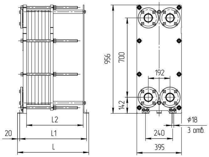 Теплообменник пластинчатый ридан нн 19 Пластинчатый теплообменник Alfa Laval AQ14L-FM Челябинск